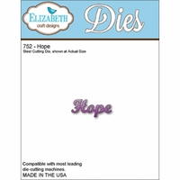 Elizabeth Craft Metal Die - Hope