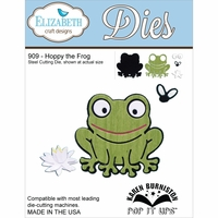 Elizabeth Craft Metal Die - Hoppy The Frog