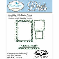 Elizabeth Craft Metal Die - Katie Holly Frame Edges