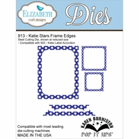 Elizabeth Craft Metal Die - Katie Stars Frame Edges