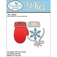 Elizabeth Craft Metal Die - Mittens