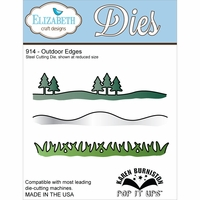 Elizabeth Craft Metal Die - Outdoor Edges