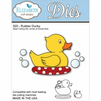 Elizabeth Craft Metal Die - Rubber Ducky