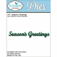 Elizabeth Craft Metal Die - Season's Greetings