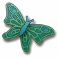 Elizabeth Craft Metal Die - Small Butterfly