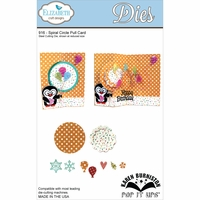Elizabeth Craft Metal Die - Spiral Circle Pull Card