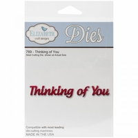 Elizabeth Craft Metal Die - 789 Thinking Of You