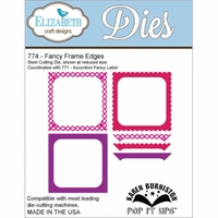 Pop It Up Metal Dies By Karen Burniston - Fancy Frame Edges