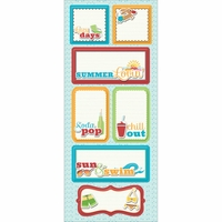 Endless Summer Sticker Stackers - Lazy Days