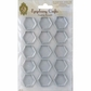 Epiphany Crafts Clear Bubble Caps - Hexagon 25mm