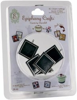 Epiphany Crafts Metal Charm Settings - Square 25