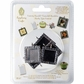 Epiphany Crafts Rhinestone Charm Settings - Square 25