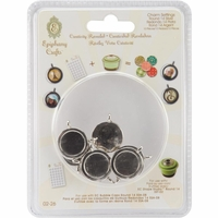 Epiphany Crafts Round Metal Charms