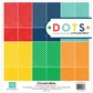 "Essentials Dots Primary Collection Kit 12""x12"""