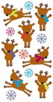 Sandylion Essentials Stickers - Reindeers & Snowflakes