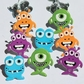 Eyelet Outlet Brads - Monster