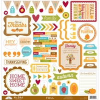Fall Friends This & That Cardstock Stickers
