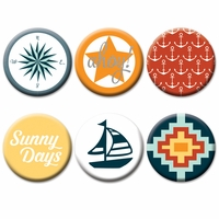 Fancy Pants Designs Making Waves Flair Embellishments