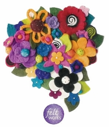 Feltworks Felting Embellishments - Click to enlarge