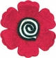 Feltworks Flower - Poppy