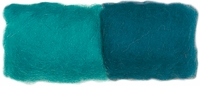 Feltworks Roving - Turquoise/Teal