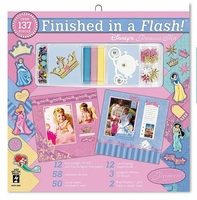 "Finished In A Flash Page Kit 12""x12"" - Disney Princess"