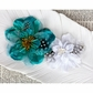 Firebird Fabric Flowers - Teal