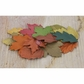 "Florella Mulberry Paper Leaves 2"" - 71948"