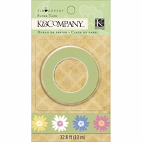 Foliage Paper Tape - Floral