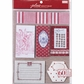 French General Fabric Remnants Assorted Sizes - Red