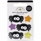 Ghouls & Goodies Mini Doodle-Pops 3D Stickers - Itsy Bitsy Spiders