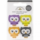 Ghouls & Goodies Mini Doodle-Pops 3D Stickers - Lil' Owls