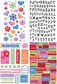 Glitter Stickers Value Pack - Friends