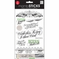 Glitter Stickers Value Pack - Our Wedding