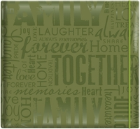 "Gloss Scrapbook 12""x12"" - Friends-Green"