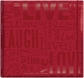 "Gloss Scrapbook 12""x12"" - Live Love Laugh-Red"