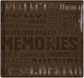 "Gloss Scrapbook 12""x12"" - Memories-Brown"