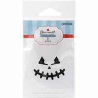 Gourmet Rubber Stamps Cling Stamps - Pumpkin Face 2