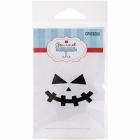 Gourmet Rubber Stamps Cling Stamps - Pumpkin Face 6