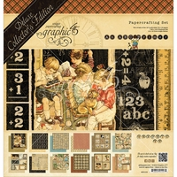 "Graphic 45 Deluxe Collector's Edition Pack 12""x12"" - ABC Primer"