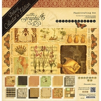 "Graphic 45 Deluxe Collector's Edition Pack 12""x12"" - Botanicabella"