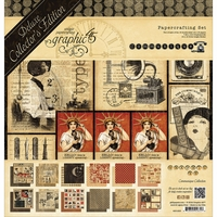 "Graphic 45 Deluxe Collector's Edition Pack 12""x12"" - Communique"