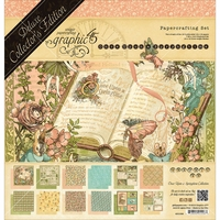 "Graphic 45 Deluxe Collector's Edition Pack 12""x12"" - Once Upon A Springtime"