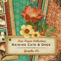 Graphic 45 Raining Cats & Dogs Collection
