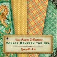 Graphic 45 Voyage Beneath The Sea Collection