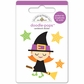 Halloween Parade Doodle-Pops 3-D Stickers - Be Witchy