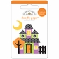 Halloween Parade Doodle-Pops 3-D Stickers - Haunted House