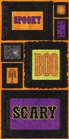 Haunted Layered Chipboard Stickers - Frames
