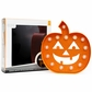 Heidi Swapp Marquee Love Halloween Plastic Shape - Orange Glitter Pumpkin