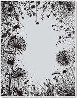 Hero Arts Cling Stamp - Dandelion Frame